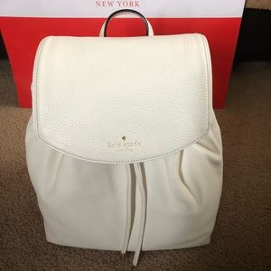 Kate Spade Mulberry Small Breezy Cement White